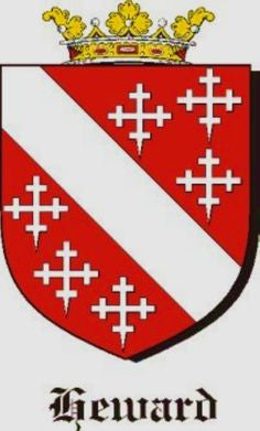 Heward family crest