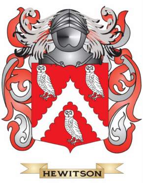 Hewitson family crest