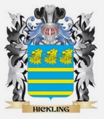 Hickling family crest