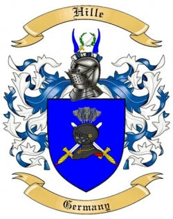 Hille family crest