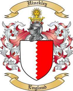 Hinckley family crest