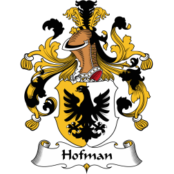Hofman family crest
