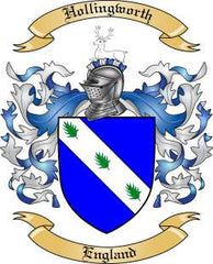 Hollingworth family crest