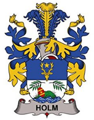 Holm family crest