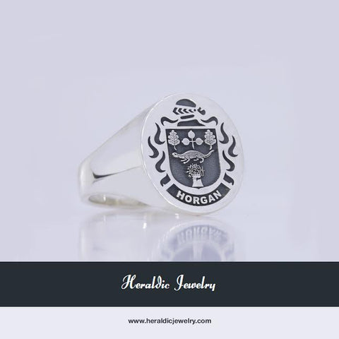 Horgan family crest ring