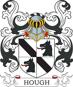 Hough family crest