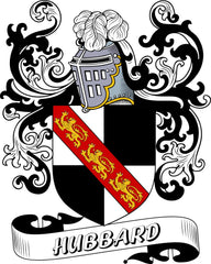 Hubbard family crest