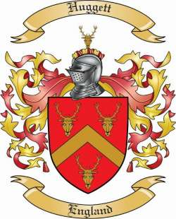 Huggett family crest