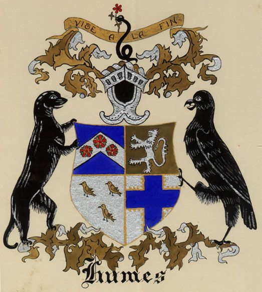 Humes family crest
