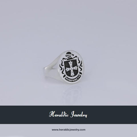 Humphreys family crest ring