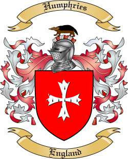 Humphries family crest