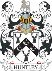 Huntley family crest
