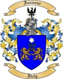 Iannone family crest