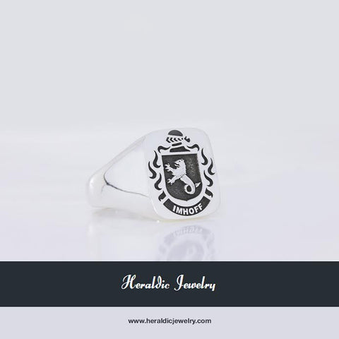 Imhoff family crest ring