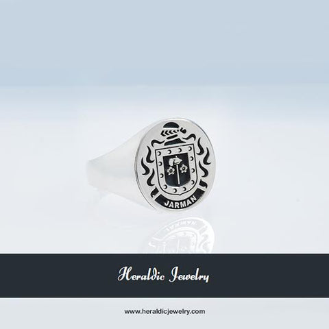 Jarmanamily Crest Ring