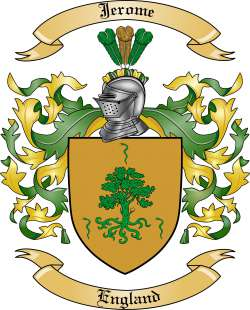 Jerome family crest