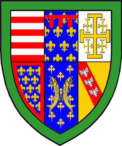Heraldry and The Crusades, part 3. The Arms of Jerusalem