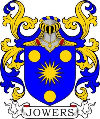 Jowers family crest