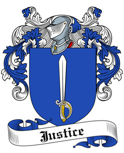 Justice family crest