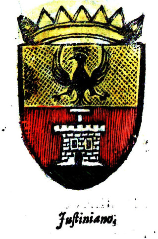 Justiniano family crest