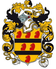 Kearsley family crest