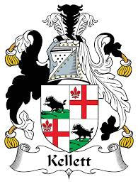 Kellett family crest