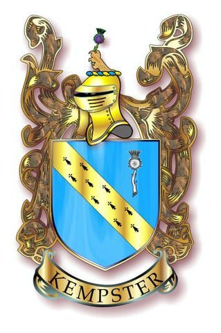 Kempster family crest