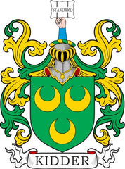 Kidder family crest