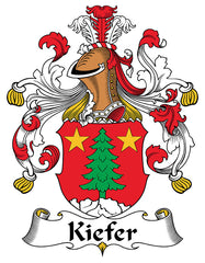 Kiefer family crest