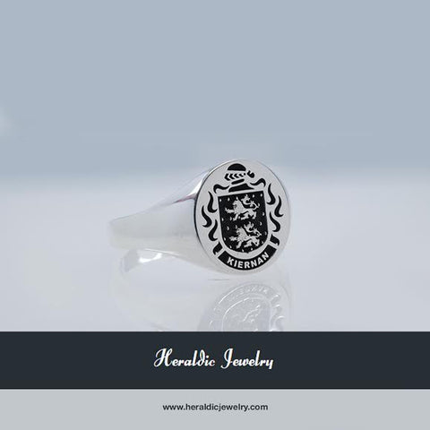 Kiernan family crest ring