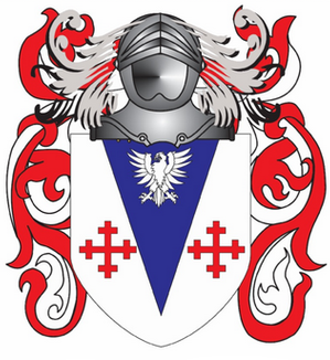 Kitching family crest