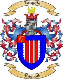 Knights family crest