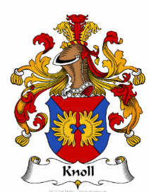 Knoll family crest