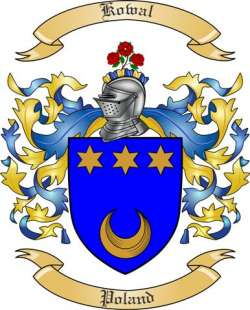 Kowal family crest
