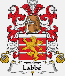Labbe family crest