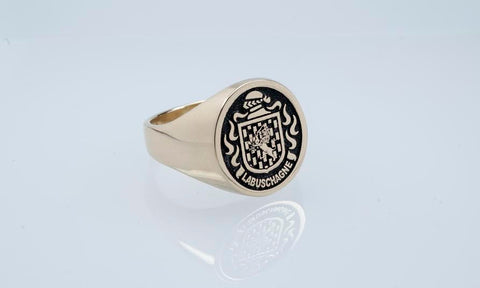 Labuschagne family crest ring