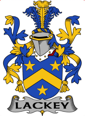 Lackey family crest