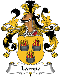 Lampe family crest