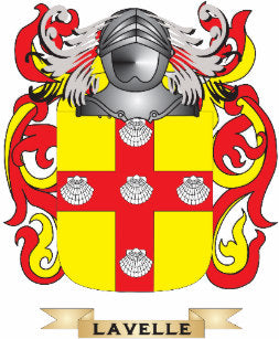 Lavelle family crest
