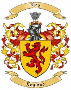 Ley family crest