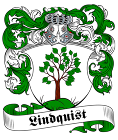 Lindquist family crest