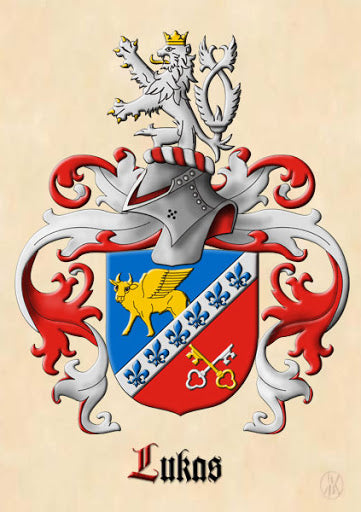Lukas family crest