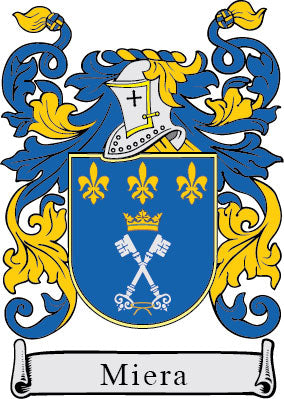 Miera family crest