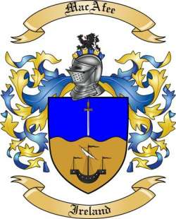 MacAfee family crest