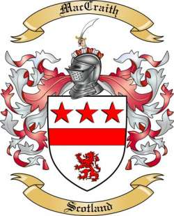 MacCraith family crest