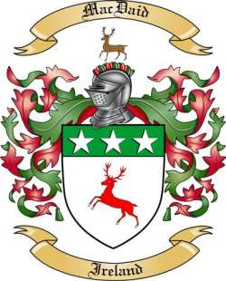MacDaid family crest