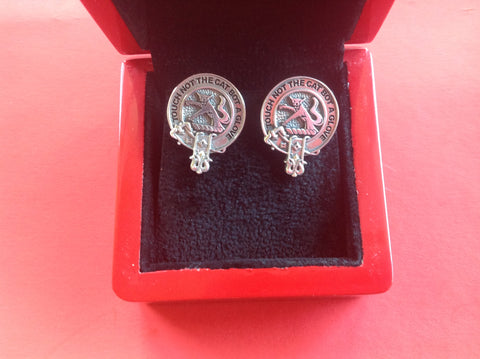 McIntosh clan crest cufflinks