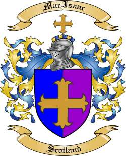 MacIsaac family crest