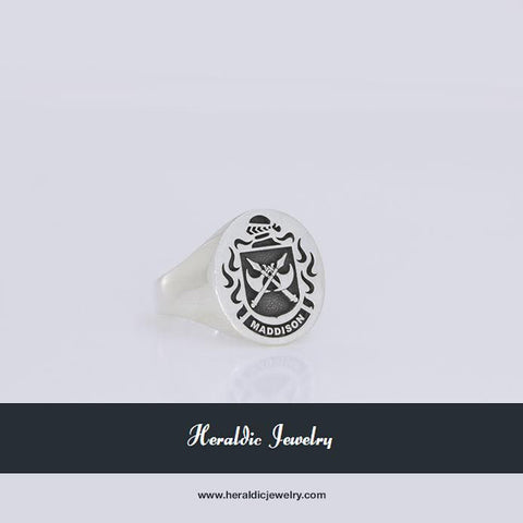 Maddison family crest ring
