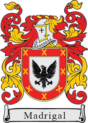 Madrigal family crest